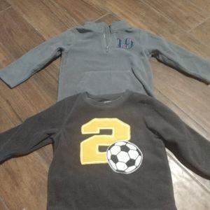 4/$25 4T pullover sweatshirts soccer winter